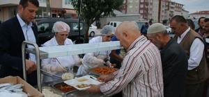 Çerkezköy'de 22 bin kişiye iftar verilecek