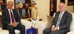 Erzincan Belediye Başkanı Başsoy'dan Başkan Sekmen'e ziyaret