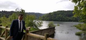 Başkan Yalçın Küçükelmalı Tabiat Parkı'nda