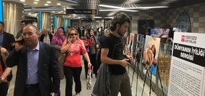 'Dünyanın İyiliği' fotoğraf sergisi açıldı