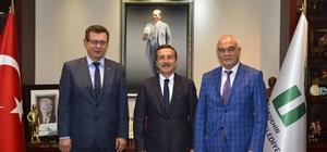 OEDAŞ yetkilileri Başkan Ataç'la buluştu