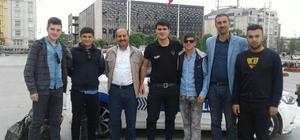 Başarılı öğrenciler İstanbul'a gönderildi