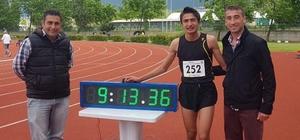 Osmangazili atlet olimpiyat yolunda