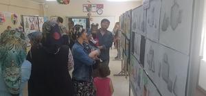 Kulalı öğrencilerin eserleri görücüye çıktı