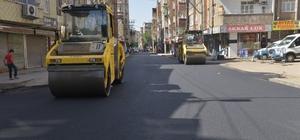 Nükhet Coşkun Caddesi asfaltlandı