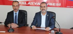 """Yıldırım:"""" Eğitim-Bir-Sen olarak Malatya'da 7 bin 3 üyemizle açık ara öndeyiz"""""""