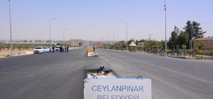 Ceylanpınar'ın dört bir yanına asfalt serimi yapıldı