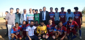 Eyyübiye Kampüsü Okulları Futbol Turnuvası sona erdi