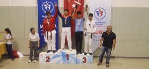 Taekwondo Türkiye Şampiyonasında iki derece birden