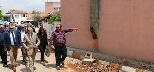 Büyükşehir Belediyesinden depremzedelere destek
