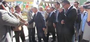 Bakan Arslan, Tuzluca'da esnaf ziyaretinde bulundu