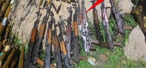 Kato'da çok sayıda silah ve mühimmat ele geçirildi