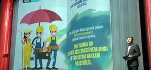Başkan Murat Hazinedar '3 Yılın Hikayesi'ni anlattı