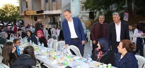 Çekmeköy'de geleneksel sokak iftarları başladı