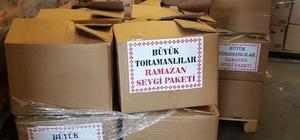 Büyük Toramanlılar Ramazan Sevgi Paketi, İhtiyaç Sahiplerini Sevindirdi