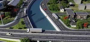 Hisar Deresi Kavşağı Gölcük trafiğini rahatlatacak