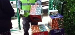 Pursaklar Belediyesi'nden bin 208 aileye gıda yardımı