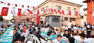 Onikişubat Belediyesi'nden kardeş belediyeye özel iftar