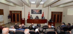 Tunceli'de İl Ekonomi Kalkınma Koordinasyon Toplantısı