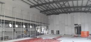 Şehit Er Mücahit Okur Spor Salonu şekilleniyor