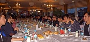 Üniversite öğrencilerine iftar