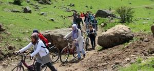 İHL'li öğrencilerden yaylada bisiklet turu