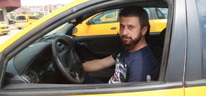 Taksicinin dikkati dolandırıcıyı yakalattı