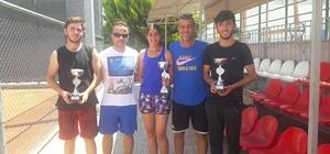 Akdeniz Belediyespor teniste de iddialı