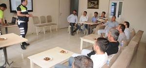 Cizre'de güvenli sürüş eğitimi verildi