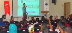 İslahiye MYO Öğrencilerine Girişimcilik Kursu