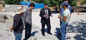 Köylerde kilit parke çalışmaları
