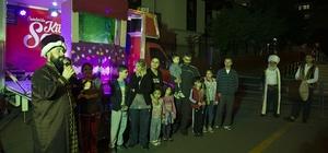 Esenler'de çocukların Ramazan sevinci