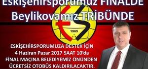 Başkan Alp, Beylikova'yı Antalya'ya taşıyacak