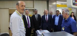 PTT Genel Müdür Yardımcısı Yusuf Canbolat Erzincan'da