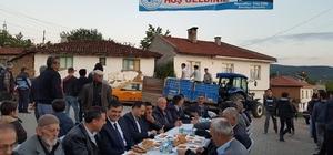 Pazaryeri'nde mahalle iftarları başladı