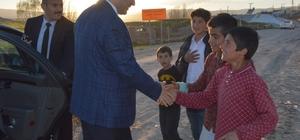 Vali Azizoğlu, Tekman ilçesini ziyaret etti