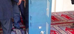 Tokat'ta camiden hırsızlık girişimi