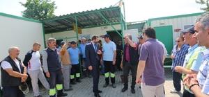 Başkan Işık, temizlik işçileriyle bir araya geldi
