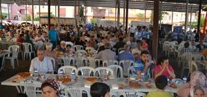 Kardeşlik sofrası Kırıkhan'da kuruldu