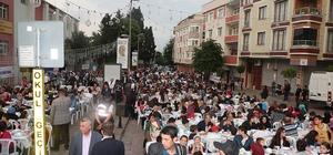 Mahallece iftar yaptılar