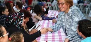 Zeytinlik'e bin kişilik iftar sofrası