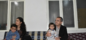 Kaymakam Suriyeli ailenin iftar sofrasına misafir oldu