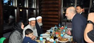 Akşehir'de şehit ve gazi ailelerine iftar yemeği