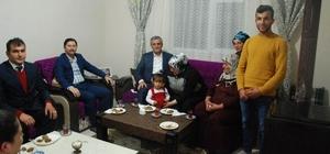 Vali Özefe, şehit ailesiyle iftar yaptı
