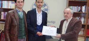 TYB Erzurum gençlikten Dağsoy, Türkiye ikincisi oldu