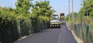 Sapanca Belediyesi asfalt çalışmalarını sürdürüyor