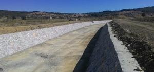 Çanakkale Eceabat Kilye Deresi taşkın kontrol inşaatı tamamlandı