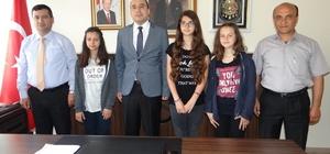 Gölpazarı'ndan TEOG sınavında başarı elde eden öğrenciler ödüllendirildi