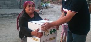 Dörtyol'da İHH'dan ramazan yardımı