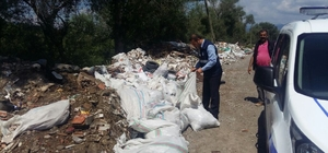 Niksar'da çevreyi kirletenlere para cezası
